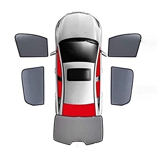 Autofenster-Sonnenschutz für Subaru Forester 2008-2012, Seitenfenster Der Jalousien VollstäNdig Bedeckte Beschattung Anti-Moskitonetz-Schutz für Kinder/Babys/Erwachsene