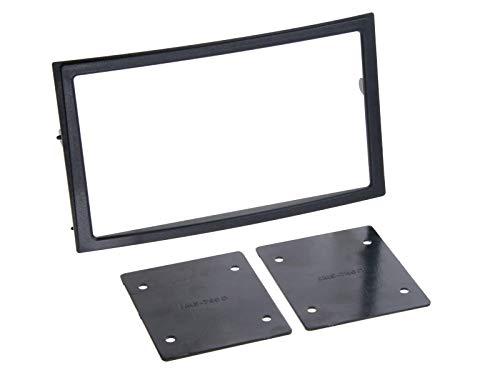 ACV 381210-15 2-DIN Radioblende für mit Fach Nissan 350Z 2002-2005 schwarz
