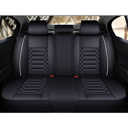 EIN kompletter Set von 5-Sitzer-Universal-kompatiblen Airbags, vorderen und hinteren atmungsaktiven hochwertigen, hochwertigen, komfortablen Schutzkissens mit hoher Qualität 0304 (Color : Green)