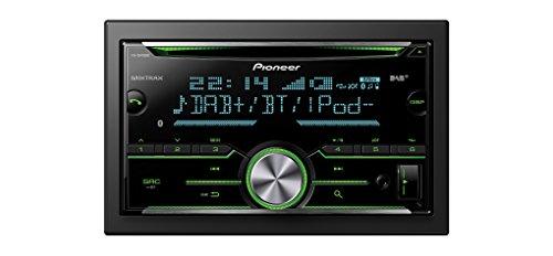 Pioneer FH-X840DAB 2DIN CD-Autoradio mit Bluetooth Freisprecheinrichtung |Front AUX & USB Anschluss