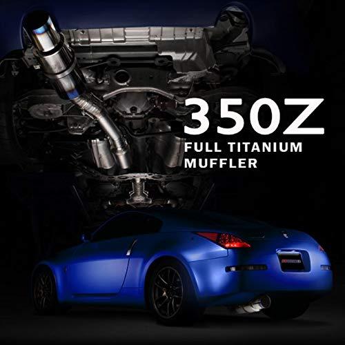 Tomei Ti Titan Auspuff System für Nissan 350Z Z33VQ35DE/HR–440014