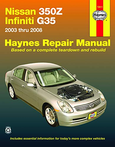 Nissan 350Z & Infiniti G35, 2003-2008 (Hayne's Automotive Repair Manual)