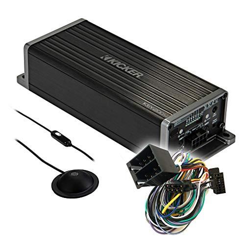Kicker Key 4-Kanal Auto/KFZ Kompakt Plug & Play Upgrade Verstärker/Endstufe kompatibel mit Nissan - Mediadox