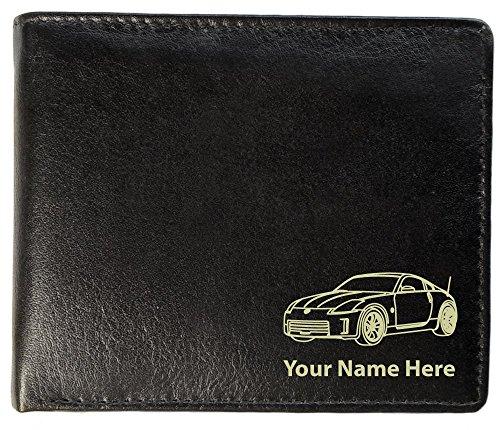 350Z Design, personalisierbare Herren-Geldbörse aus Leder (Toscana-Stil)